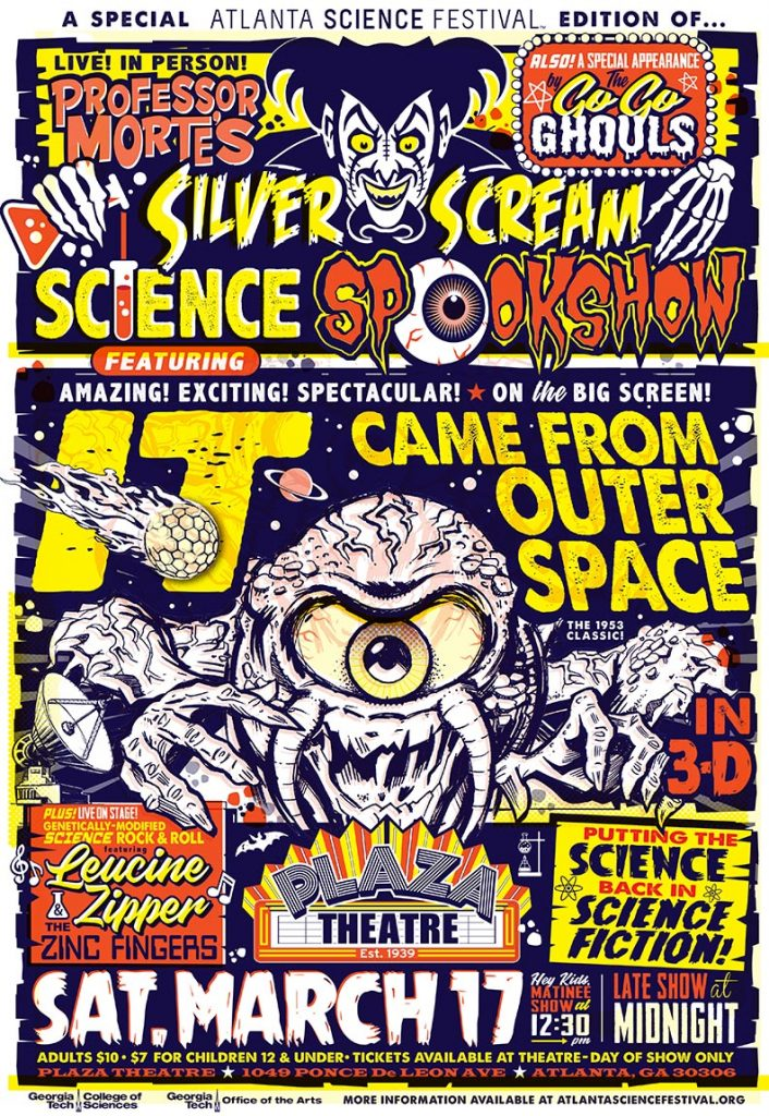 Silver Scream Science Spookshow, March 17, 2018, Plaza Theater