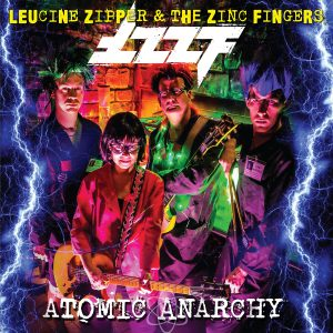 LZZF Atomic Anarchy Album Cover